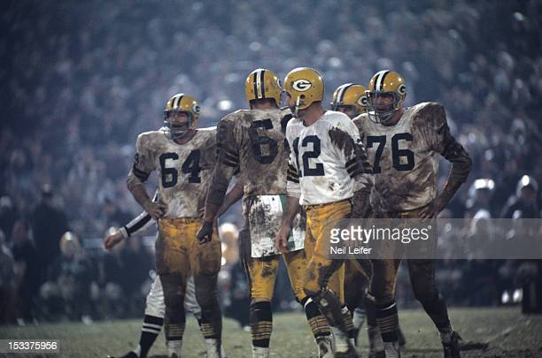 Green Bay Packers QB Zeke Bratkowski on field during game vs Baltimore Colts at Memorial Stadium Baltimore MD CREDIT Neil Leifer