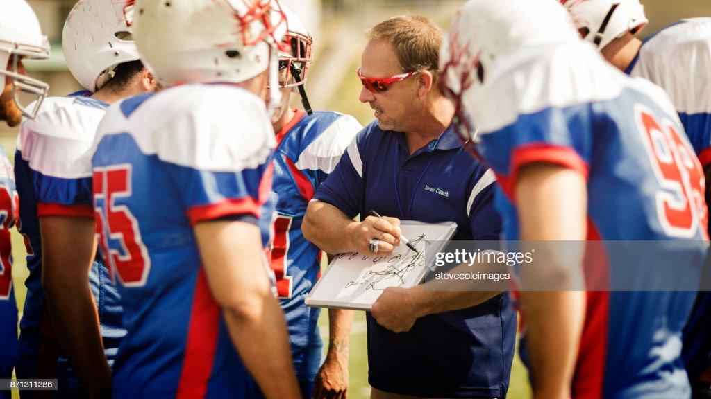 Football Head Coach : Stock Photo