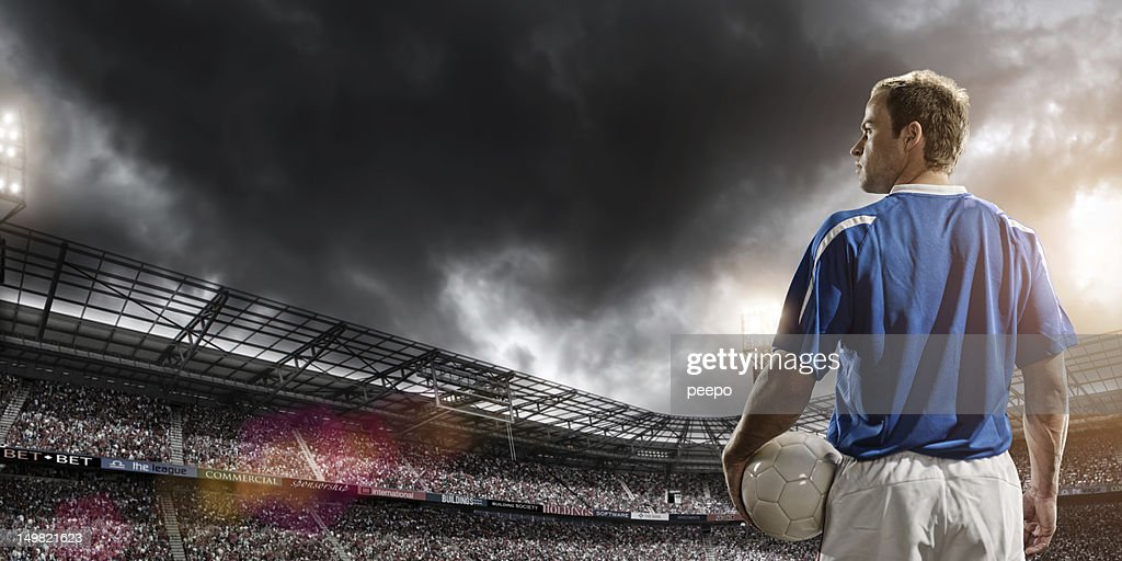 Football Hero : Stock Photo