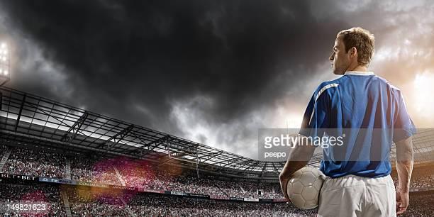de herói no futebol - camisa de futebol - fotografias e filmes do acervo