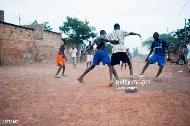 Football avec l'Afrique