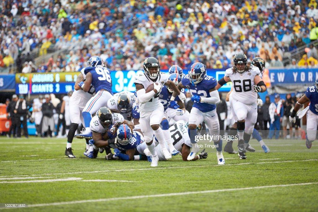 New York Giants Vs Jacksonville Jaguars : News Photo