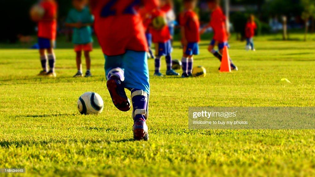Football Junior : Stock Photo