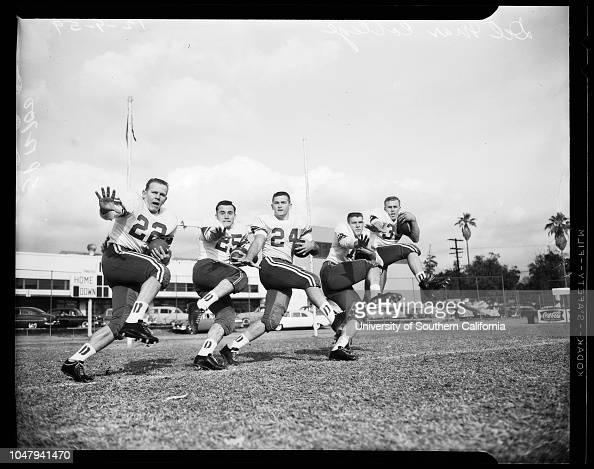 Football Junior Rose Bowl December 9 1959 Del Mar