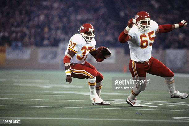 Kansas City Chiefs Joe Delaney in action rushing vs Detroit Lions at Pontiac Silverdome Pontiac MI CREDIT John Iacono