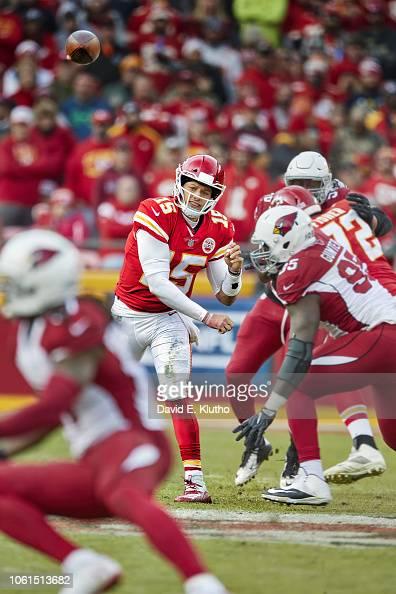 Kansas City Chiefs QB Patrick Mahomes in action, making ...