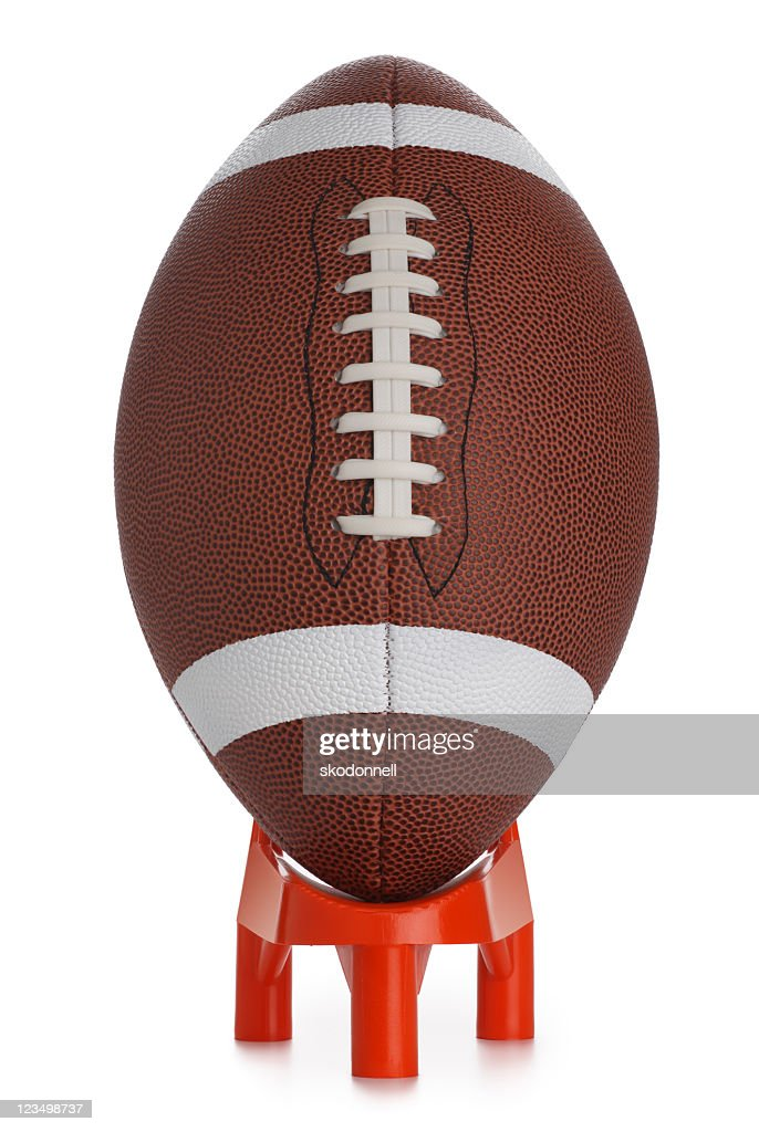 Football Kickoff : Stock Photo