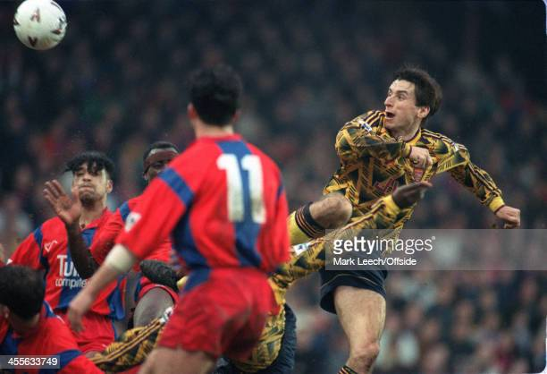 Football League Cup Crystal Palace v Arsenal Alan Smith scores for Arsenal
