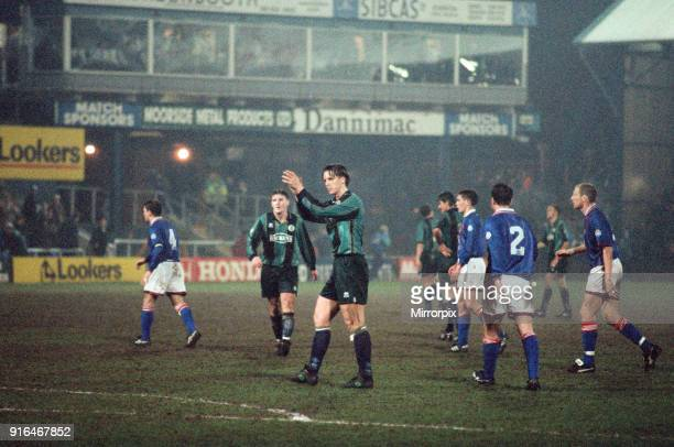 Football League Division 1 match Oldham 1 0 Middlesbrough 5th April 1995