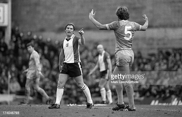Football League Division 1 - Southampton v Manchester City Alan Ball points an accusing finger at City defender Kevin Bond..