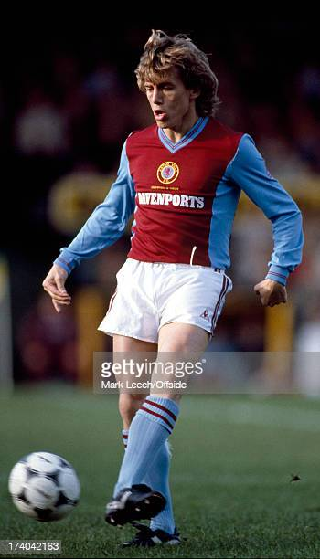 Football League Division One - Norwich City v Aston Villa Villa winger Tony Morley.