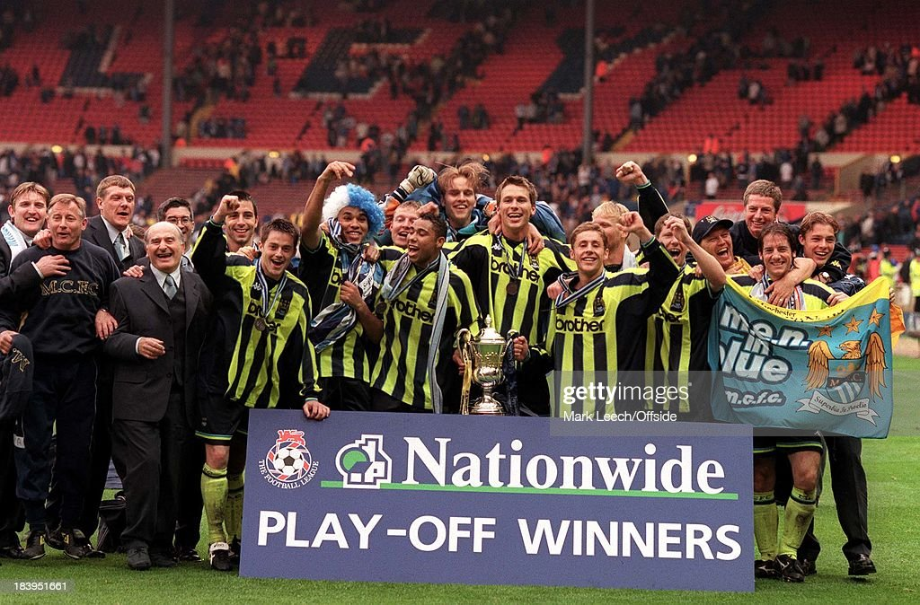 Man City Div Two Play-Off 1999 : News Photo