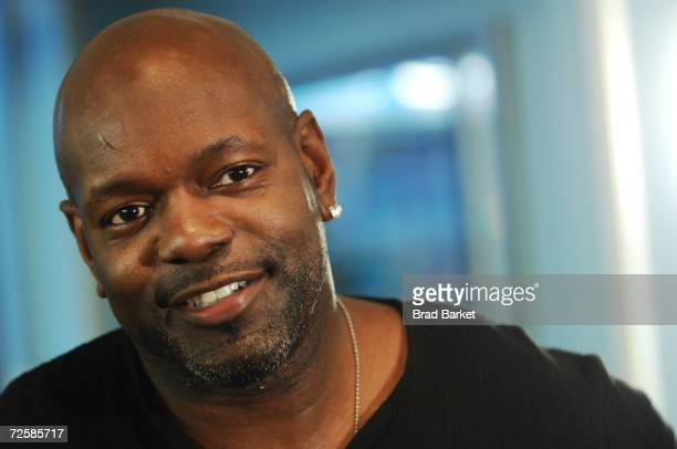 Football legend Emmitt Smith speaks at the Ronald McDonald House Of New York Celebrates World Children's Day at McDonald's Restaurant in Times Square...