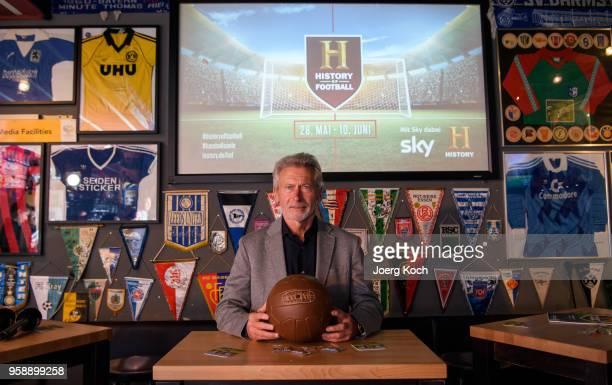 Football legend Paul Breitner attends the preview screening of the new documentaries 'Deutschland Deine Fussballseele' and 'Magische WMMomente Tore...