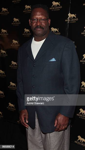 Football linebacker Andre Tippett attends the 2nd Anniversary celebration at MGM Grand at Foxwoods on May 15 2010 in Mashantucket Connecticut