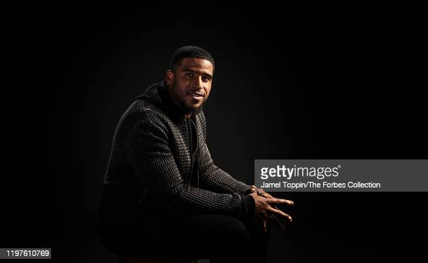 Football linebacker Bobby Wagner of the Seattle Seahawks is photographed for Forbes Magazine on November 13 2019 in New York City PUBLISHED IMAGE...