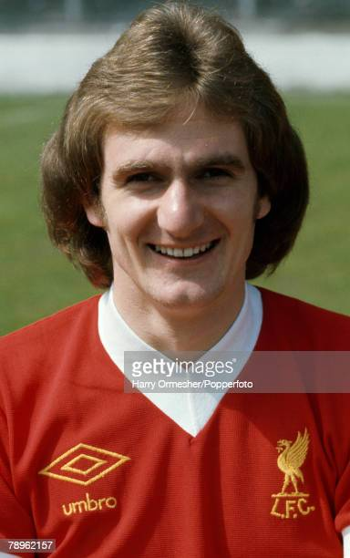 Football Liverpool FC Photocall A portrait of Phil Thompson