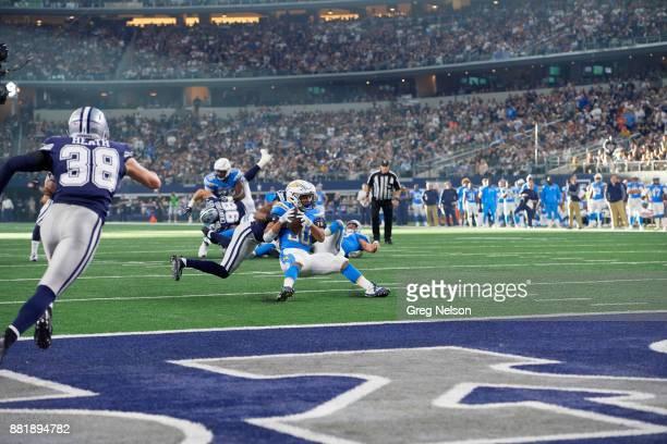 Los Angeles Chargers Austin Ekeler in action rushing vs Dallas Cowboys at ATT Stadium Arlington TX CREDIT Greg Nelson