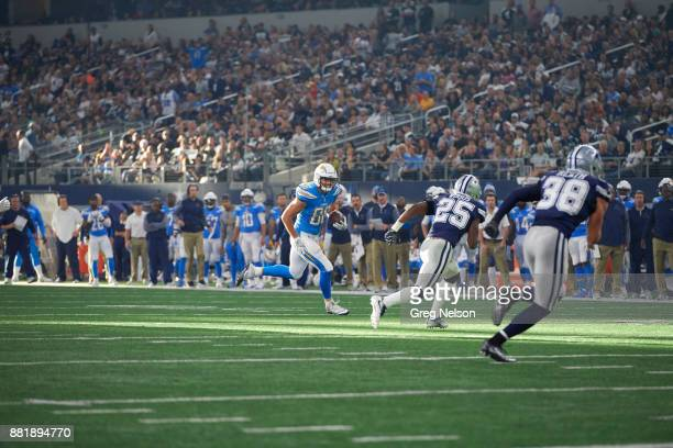 Los Angeles Chargers Hunter Henry in action vs Dallas Cowboys at ATT Stadium Arlington TX CREDIT Greg Nelson