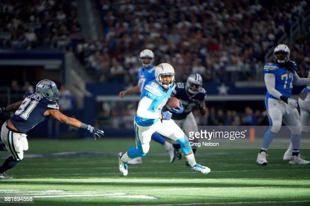 Los Angeles Chargers Keenan Allen in action vs Dallas Cowboys at ATT Stadium Arlington TX CREDIT Greg Nelson