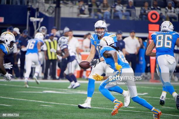 Los Angeles Chargers QB Philip Rivers in action vs Dallas Cowboys at ATT Stadium Arlington TX CREDIT Greg Nelson