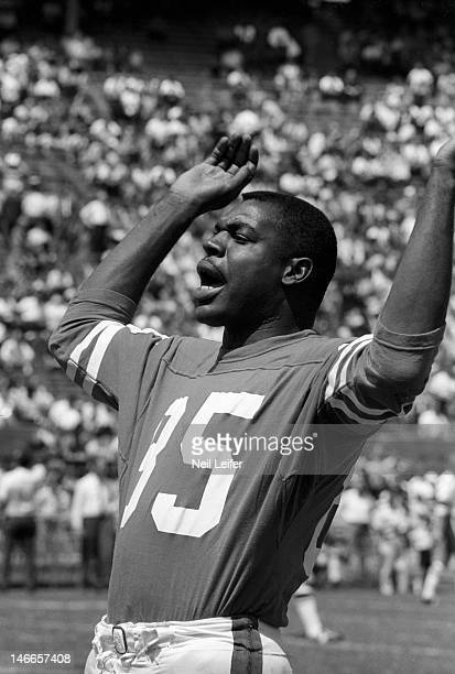 Los Angeles Rams Lamar Lundy on sidelines during game vs New Orleans Saints at Tulane Stadium.New Orleans, LA 9/17/1967CREDIT: Neil Leifer