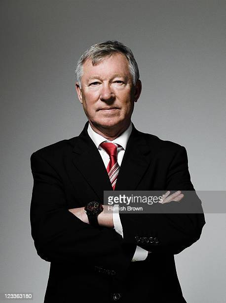 Football manager Alex Ferguson is photographed on November 16 2009 in Manchester England