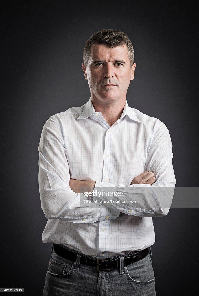 Roy Keane, FourFourTwo UK, January 1, 2015 : ニュース写真
