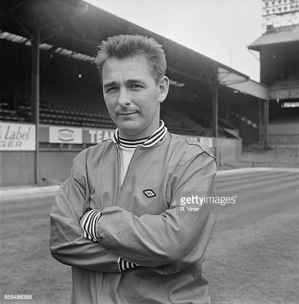 Football manager Brian Clough of Derby County FC UK 2nd August 1971