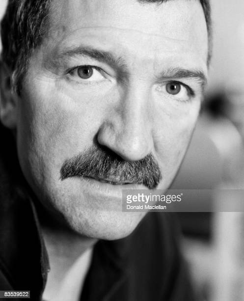 Football manager Graeme Souness poses for a portrait shoot in Blackburn 7th March 2001