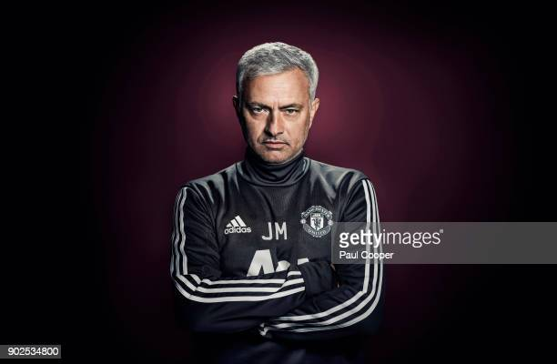 Football manager Jose Mourinho is photographed on August 2 2017 in Manchester England