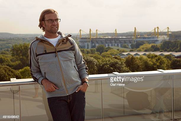 Football manager Jürgen Klopp is photographed for Puma on August 10 2012 in Dortmund Germany