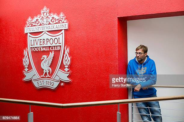 Football manager Jurgen Klopp is photographed for Stern magazine on July 12 2016 in Liverpool England