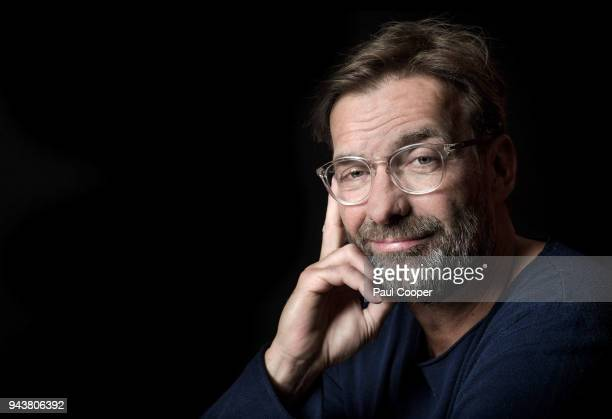 Football manager Jurgen Klopp is photographed for Telegraph on March 29 2018 in Liverpool England
