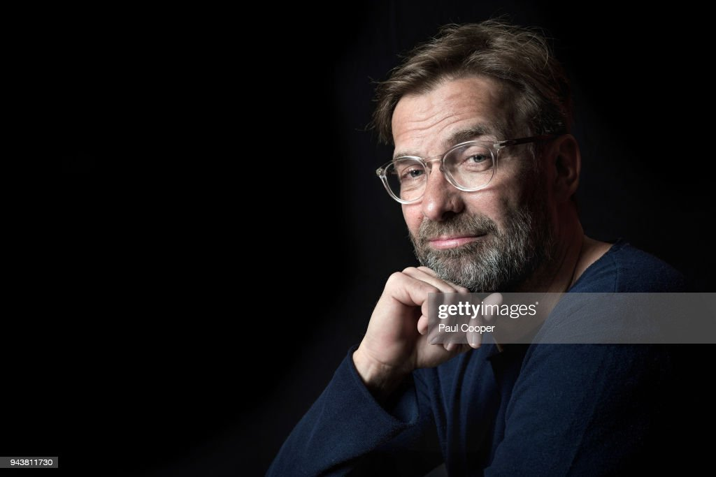 Football manager Jurgen Klopp is photographed for Telegraph on March 29, 2018 in Liverpool, England.