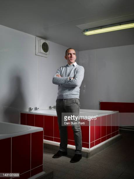 Football manager Paolo Di Canio is photographed for Independent on November 29 2011 in Swindon England