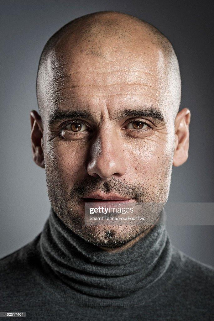 Pep Guardiola, FourFourTwo UK, February 1, 2014