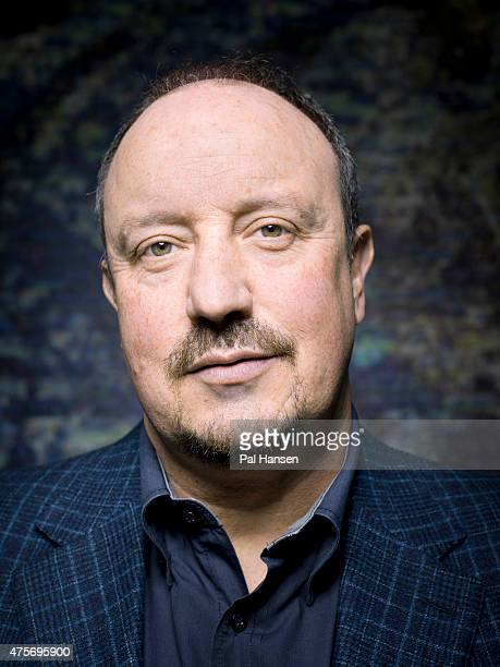 Football manager Rafa Benitez is photographed for Laf magazine on March 26 2013 in London England