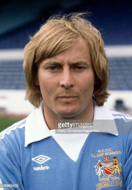 Football Manchester City FC Photocall A portrait of Asa Hartford