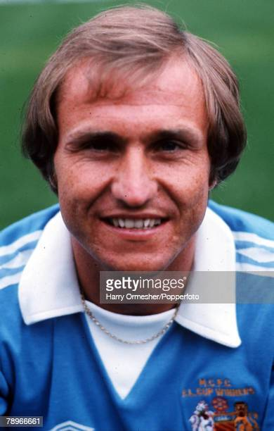 Football Manchester City FC Photocall A portrait of Dennis Tueart