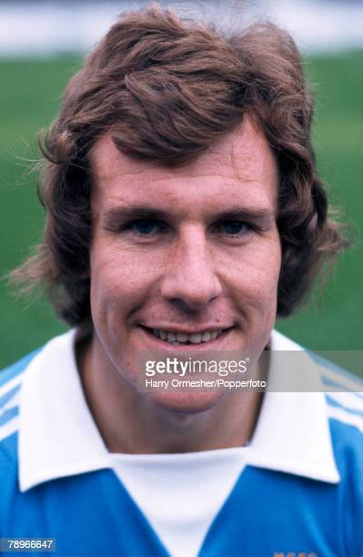 Football Manchester City FC Photocall A portrait of Joe Royle
