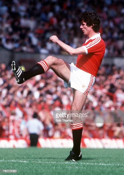 Football Manchester Uniteds Frank Stapleton