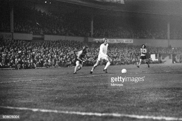 Football match, Wolves v Spurs, Division 1, Wolves 0 - 1 Tottenham, played at Molineux Ground, Waterloo Road, Wolverhampton, 16th March 1976.