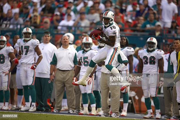 Miami Dolphins Ted Ginn Jr in action vs New England Patriots Miami FL CREDIT David Bergman