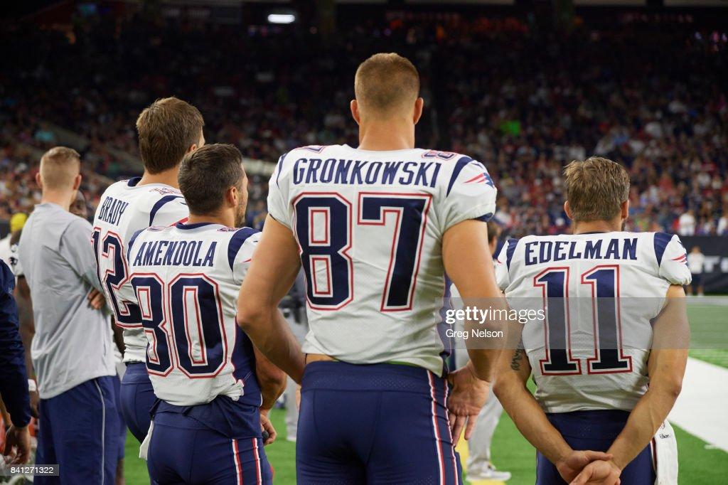 New England Patriots Qb Tom Brady Danny Amendola Rob