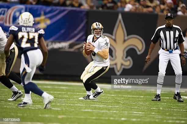 New Orlean Saints QB Drew Brees in action vs San Diego Chargers during preseason New Orleans LA 8/27/2010 CREDIT Bob Rosato