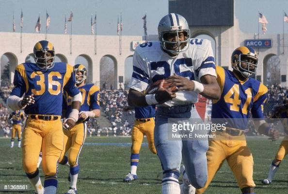 NFC championship, Dallas Cowboys Preston Pearson in action ...