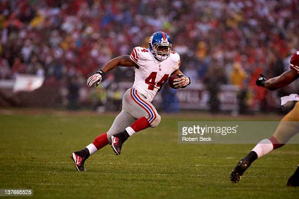 NFC Championship New York Giants Ahmad Bradshaw in action vs San Francisco 49ers at Candlestick Park San Francisco CA CREDIT Robert Beck