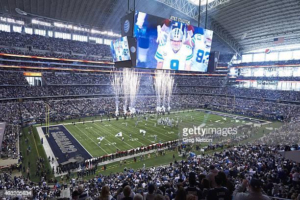 NFC Playoffs Aerial upper level view of ATT Stadium before Dallas Cowboys vs Detroit Lions game at ATT Stadium Arlington TX CREDIT Greg Nelson