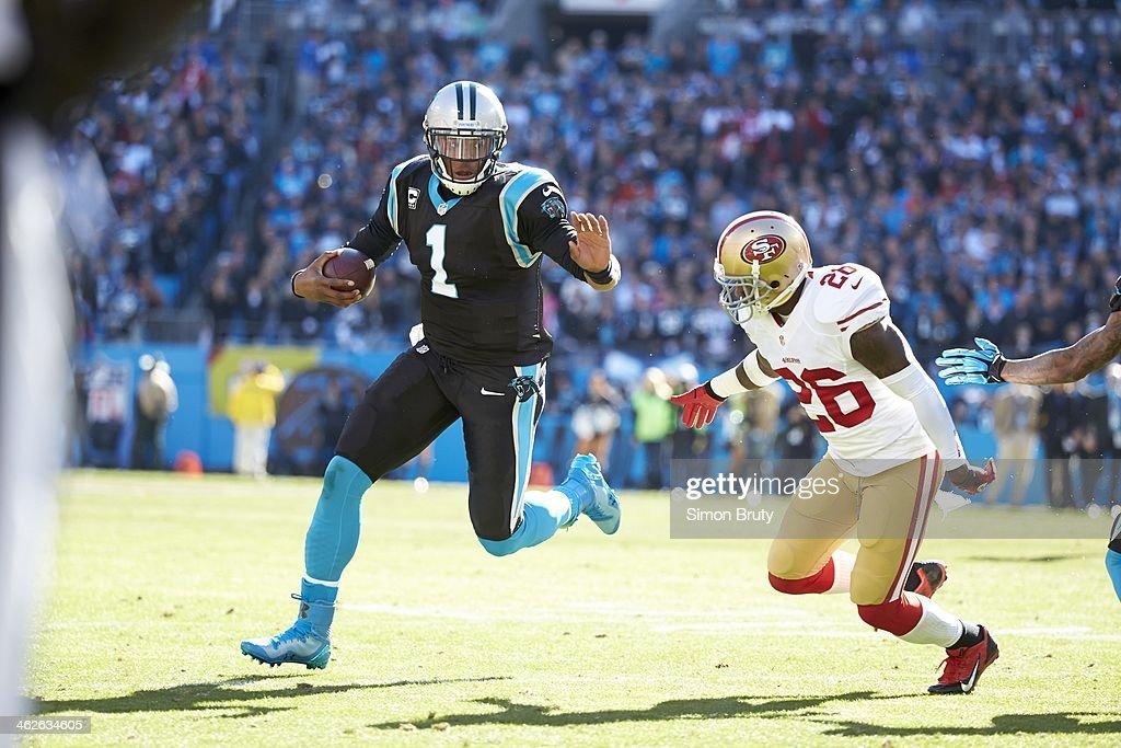 Carolina Panthers QB Cam Newton in action b556116cc